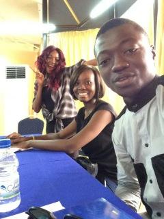 Etudiants de Voix des Jeunes
