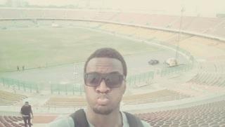 Stade de football à Accra