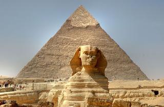 Le Sphinx en Egypte sur le Blog de Miss Africa