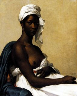 Portrait d'une femme noire