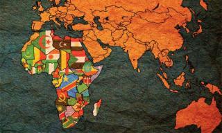 Drapeau de pays africains