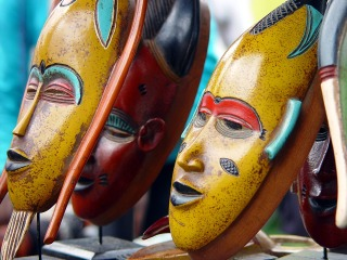 Masques africains culture
