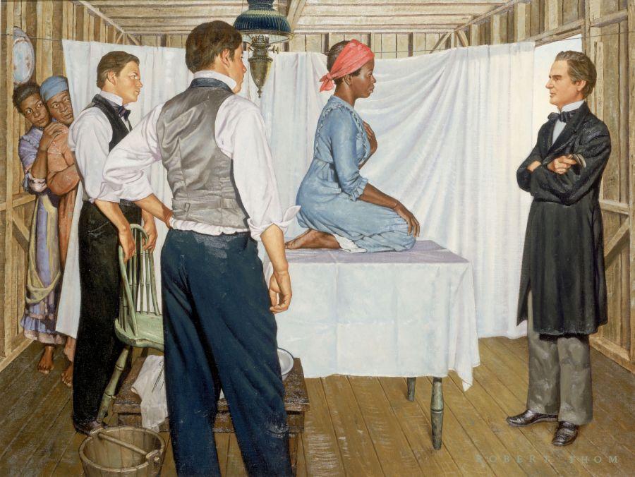 Image de Marion Sims, chirurgien gynécologique