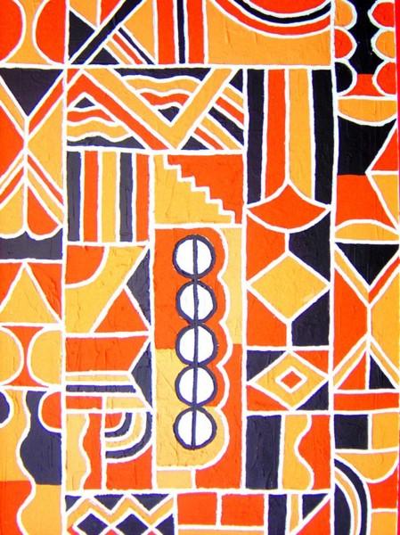 Le sens des figures géométriques dans l'art africain