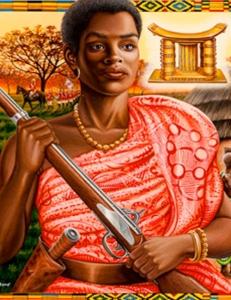 Yaa Asantewaa, reine africaine inspirante